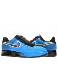 Baskets Nike Air Force One Lunar 580383-400 Hommes