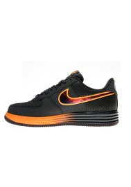 Baskets Nike Air Force One Lunar 580383-001 Hommes