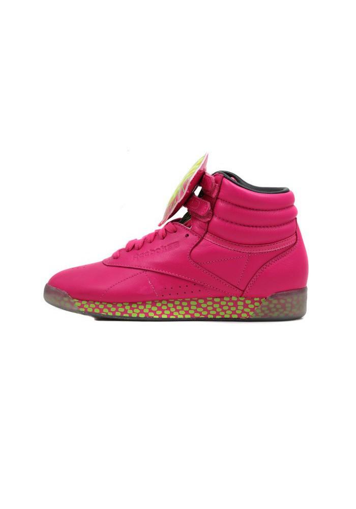 0f26afc1c79 acquistare Basket Reebok Freestyle Hi Int KH Rose V53701 Femme ...