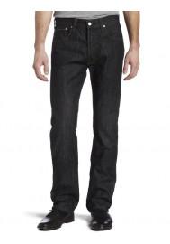 Levi's 501 Original Button Fly Iconic Black Noir Jeans 501-5808 Hommes
