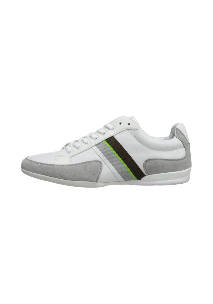 9a2324a9932 acquistare Chaussure Hugo Boss Green - Space Leather Blanche - Homme .