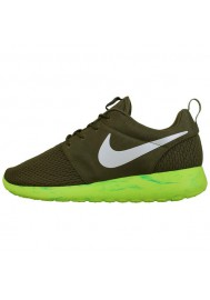 Chaussures Hommes Nike Rosherun Olive (Ref : 669985-200) Running