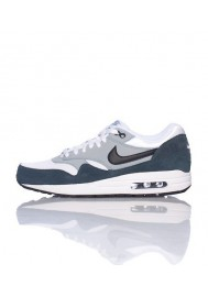 Baskets Nike Air Max 1 Essential Gris (Ref : 537383-117) Hommes Running