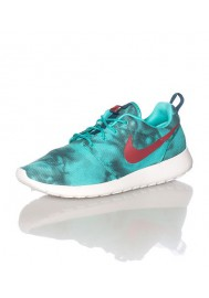 Chaussures Hommes Nike Rosherun Print Vert (Ref: 655206-346) Running
