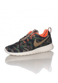 Chaussures Hommes Nike Rosherun Print Marron (Ref: 655206-203) Running