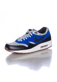 Nike Air Max 1 Essential Rouge (Ref : 537383-200) Basket Mode Hommes 2014